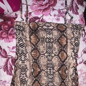 SNAKESKIN BODY SUIT *Never Been Used*